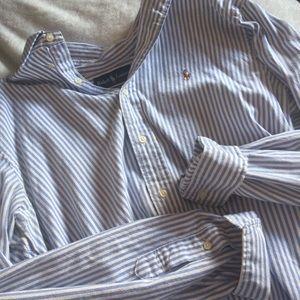 Ralph Lauren Classic Fit Button Down Striped Shirt